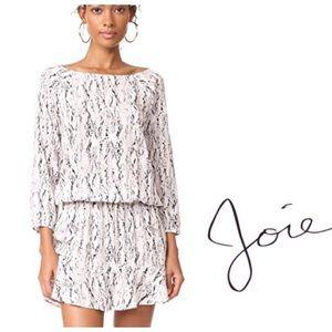 Soft Joie Arryn B Snakeskin Drop Waist Dress